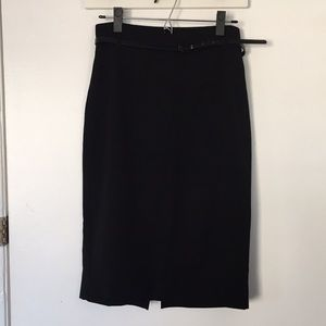 Express Black Pencil Skirt - Size 6